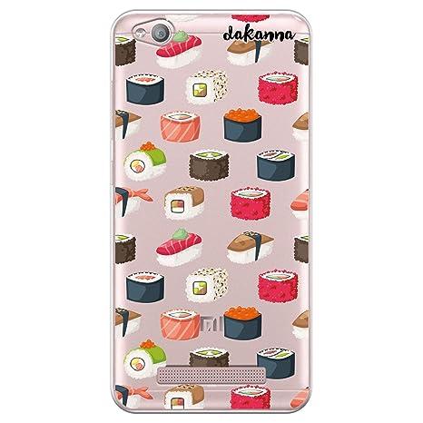 dakanna Funda para [Xiaomi Redmi 4A] Dibujo: Comida Sushi ...