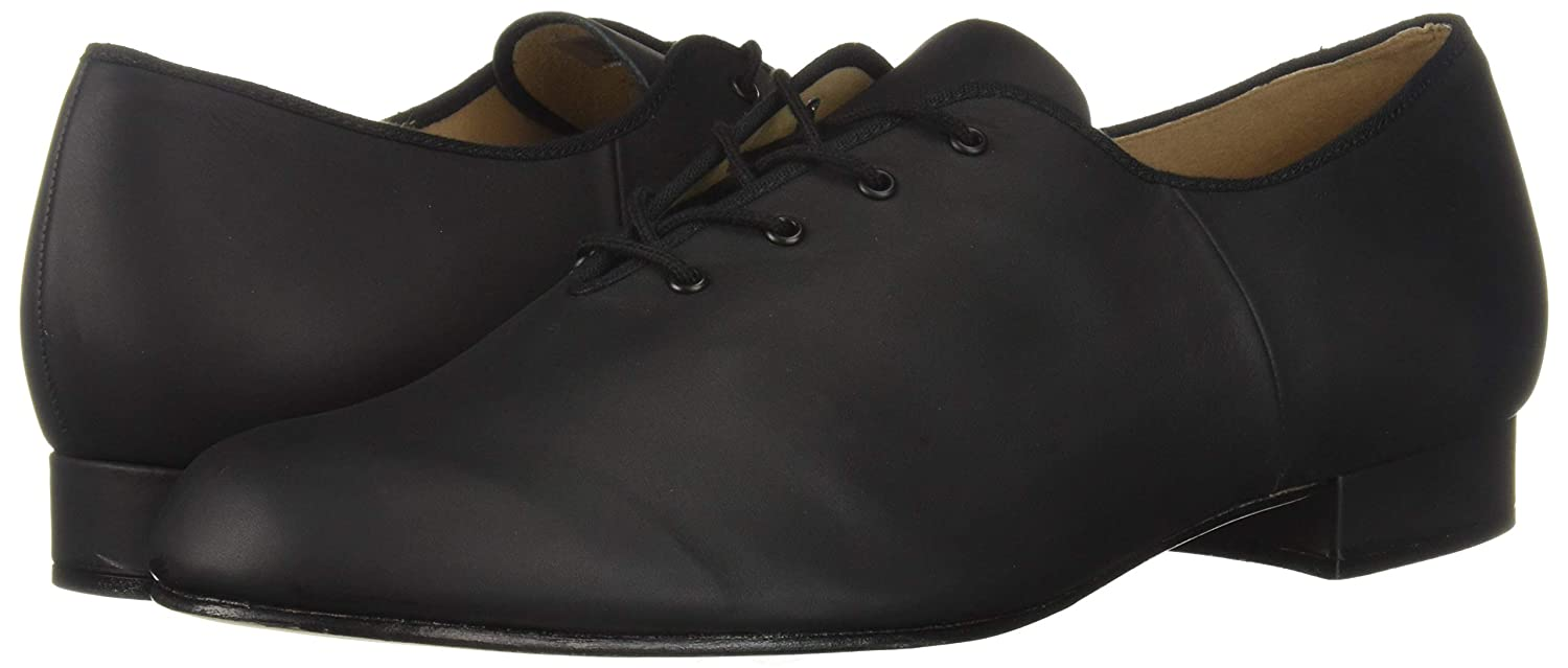 Men's Swing Dance Clothing, Vintage Dance Clothes Bloch Dance Mens Jazz Oxford Leather Sole Character Shoe $74.95 AT vintagedancer.com