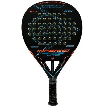 Dunlop Pala de pádel Inferno Elite LTD Orange - Blue: Amazon.es ...