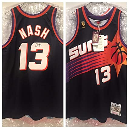 c18c34588f21 Steve Nash Autographed Signed Memorabilia Suns Authentic Jersey Beckett Loa  at Amazon s Sports Collectibles Store