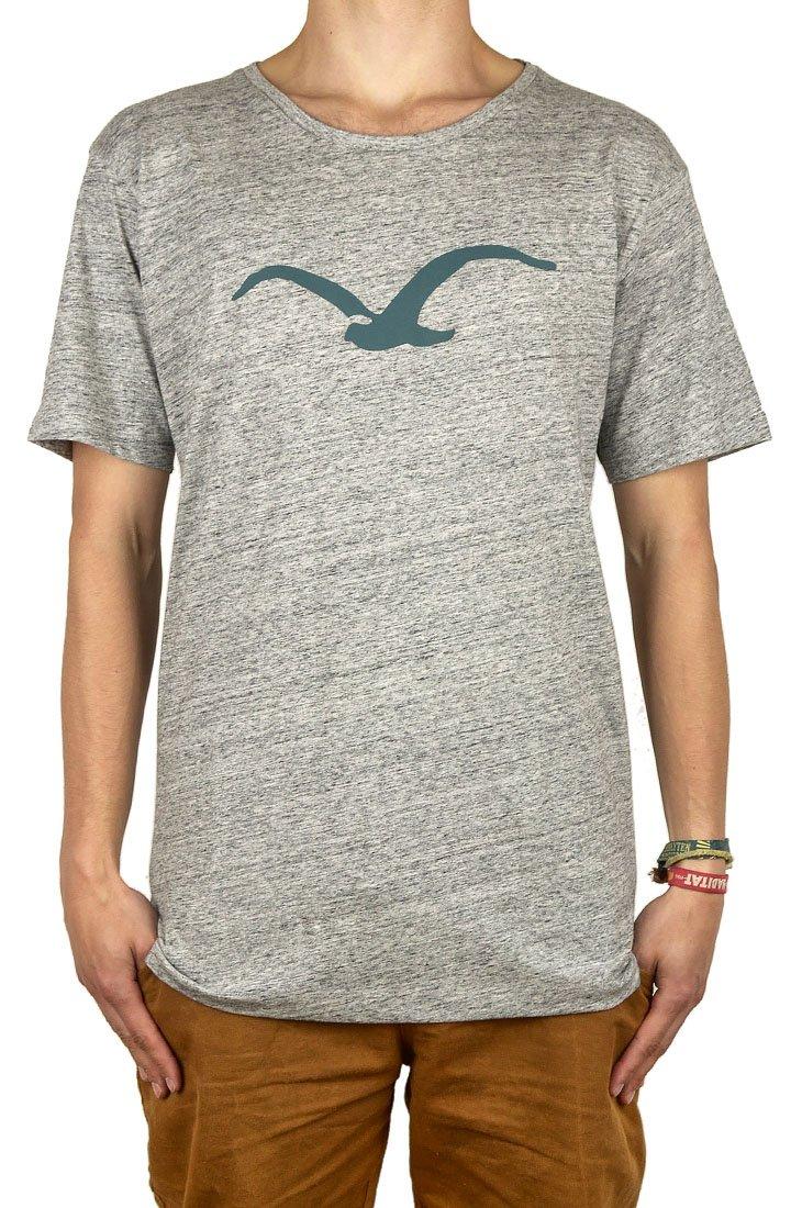 Cleptomanicx Men T-Shirt Seagull?-?Vintage Black