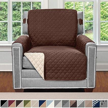 Amazon.com  Sofa Shield Original Patent Pending Reversible Chair ... 292b37d22c