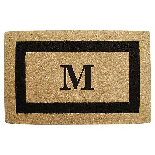 Monogram Door Mat Amazon Com