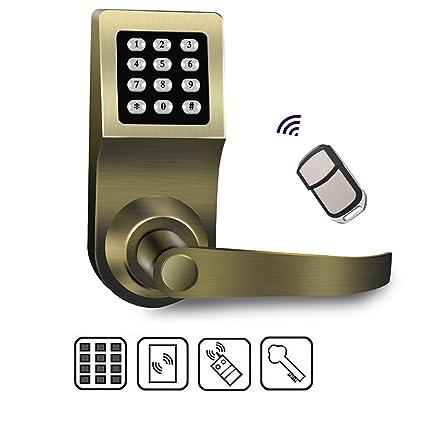 beatease nuevo código de acceso Smart electrónico Digital sin llave cerradura de la puerta de aleación