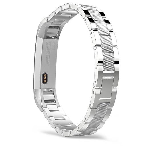 9 opinioni per MoKo Fitbit Alta / Alta HR Watch Cinturino, Braccialetto Sostituzione in Acciaio