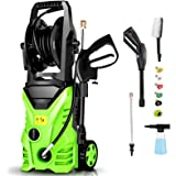 Homdox Pressure Washer 2950PSI Power washer 1.7GPM 1800W Cleaner Machine with Power Nozzle Gun,Soap Tank,Metal Screwdriver fo