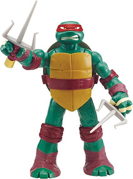 Amazon Com Teenage Mutant Ninja Turtles 11 Head Droppin Raphael