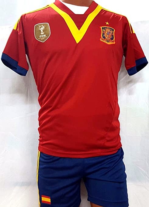 best website 304a2 c2150 Amazon.com : New ! Spain National Team Jersey and Short Set ...