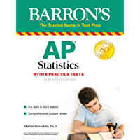AP Statistics with 6 Practice Tests (Barron's Test Prep)