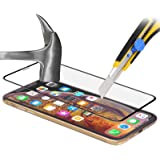 StilGut Protection d'écran invisible en verre trempé pour iPhone Xs et iPhone X en lot de 2. Protection en verre trempé, ultra-résistante et transparente pour l'iPhone X et iPhone Xs d'Apple, transparent