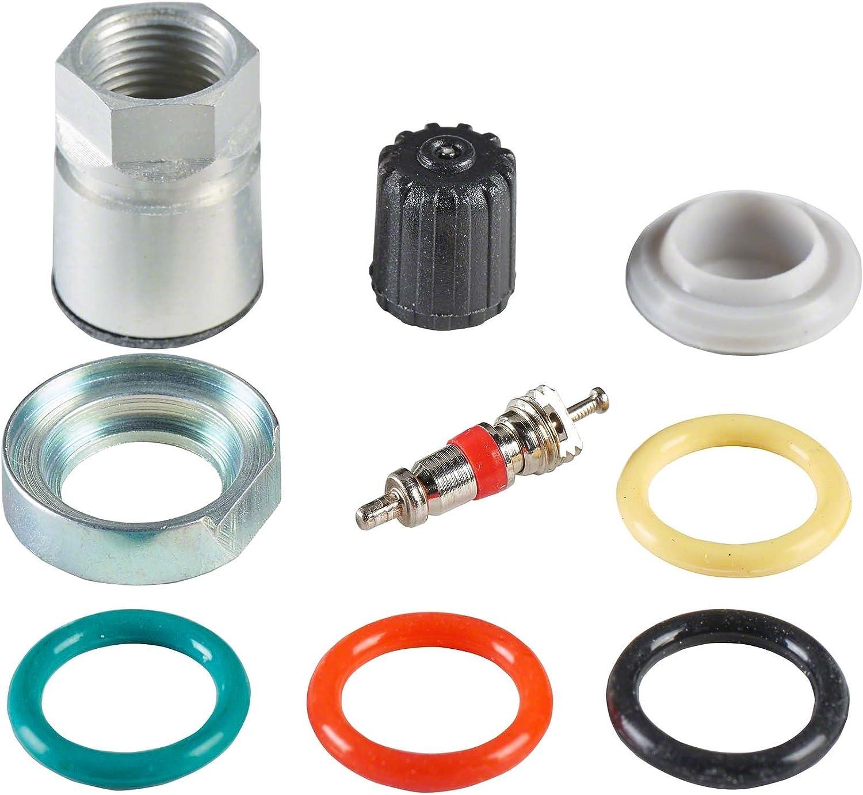 Kit de service TPMS Capteur Pression Pneu 20x Kit de r/éparation de valve TPMS C05 pour Conti TG1C Hofmann Power Weight