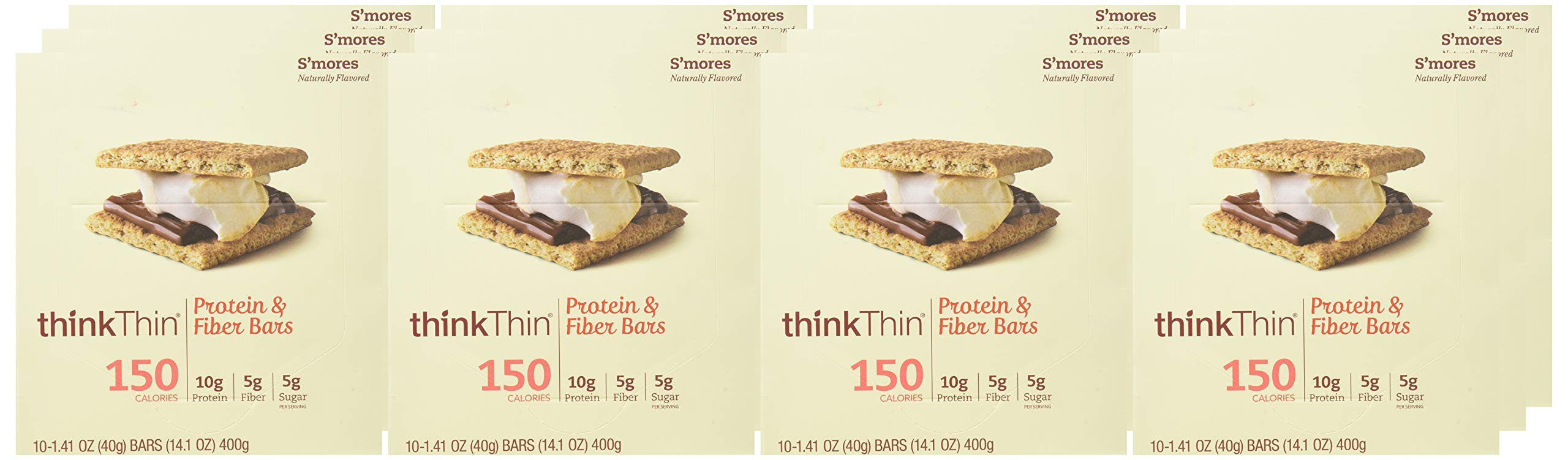 Think Thin Salted Caramel Lean Bar, 1.41 Ounce -- 120 per case. by thinkThin (Image #1)