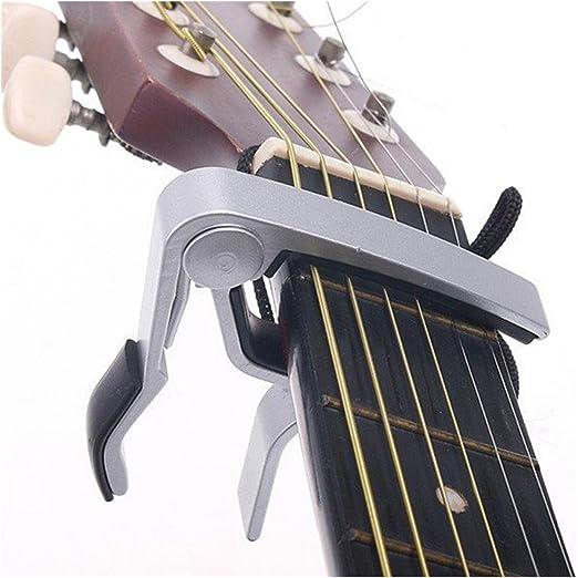 Aleación de aluminio antioxidante – Cejilla para guitarra acústica ...