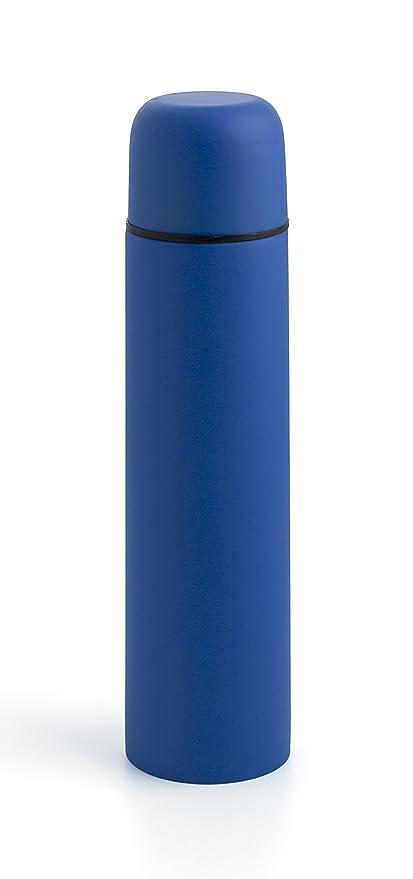 Quid Riviera Termo de 1 L Liquido, Acero Inoxidable, Azul, 1 Litro