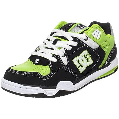 DC Shoes DECIBEL SHOE 302865 - Zapatillas de cuero nobuck para hombre, color negro, talla 44.5: Amazon.es: Zapatos y complementos