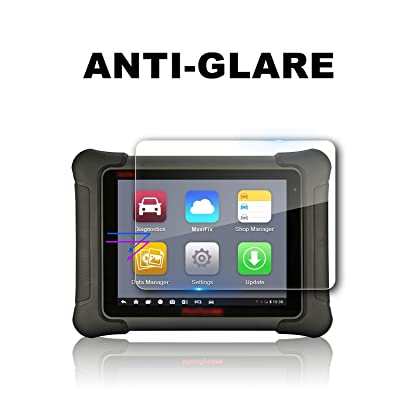 2 PCS LFOTPP PET Screen Protector Replacement for Autel Maxisys Elite 9.7 Inch Screen, Center Touch Protective Film Anti-Glare High Clarity: GPS & Navigation