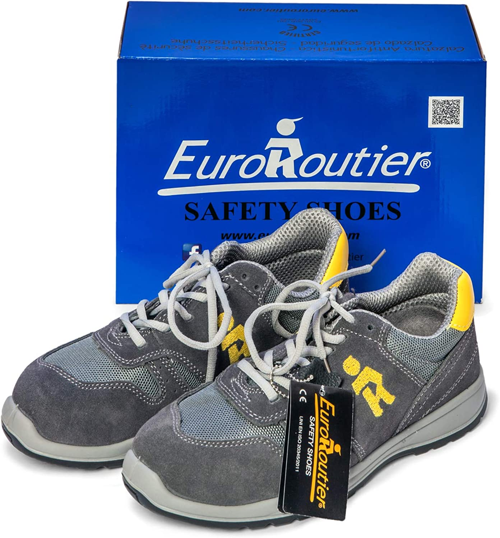EuroRoutier Sporting Gray Scarpa Antinfortunistica S1P A+E+