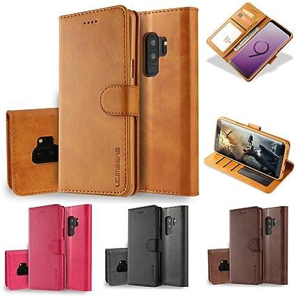 Amazon.com: Samsung Galaxy S9 Plus funda portafolios ...