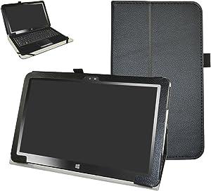 "Insignia 11.6 NS-P11W7100 / NS-P11A8100 Case,Mama Mouth PU Leather Folio Stand Cover for 11.6"" Insignia 11.6 NS-P11W7100 / NS-P11A8100 11.6 Inch Windows 10 Tablet PC,Black"