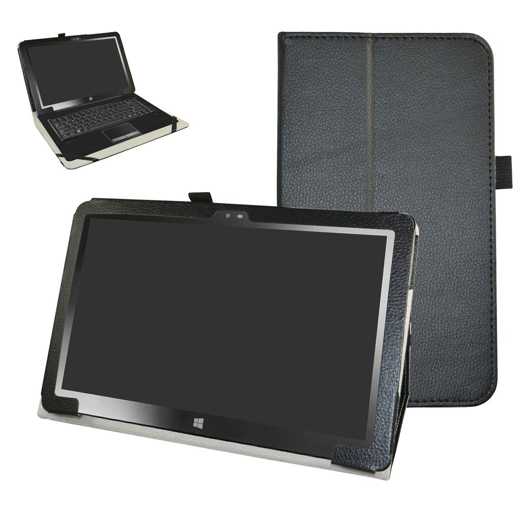 Insignia 11.6 NS-P11W7100 / NS-P11A8100 Case,Mama Mouth PU Leather Folio Stand Cover for 11.6