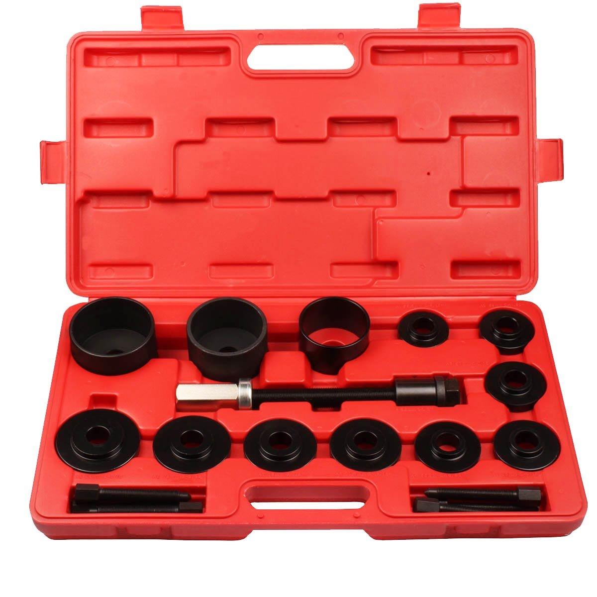 Qbace 17PCS Master Front Wheel Drive Bearing Service Kit