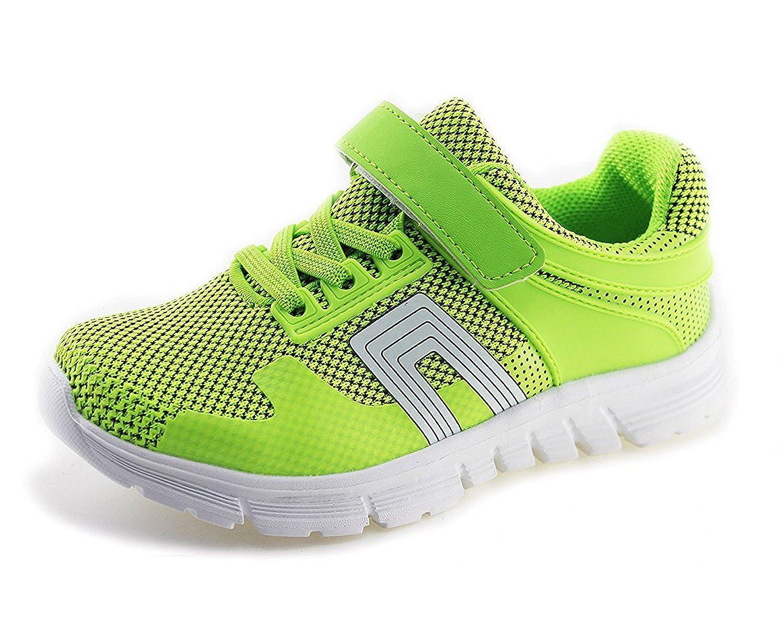 Jabasic Kids Mesh Breathable Sneakers Boys Girls Lightweight Walking Shoes ST5971