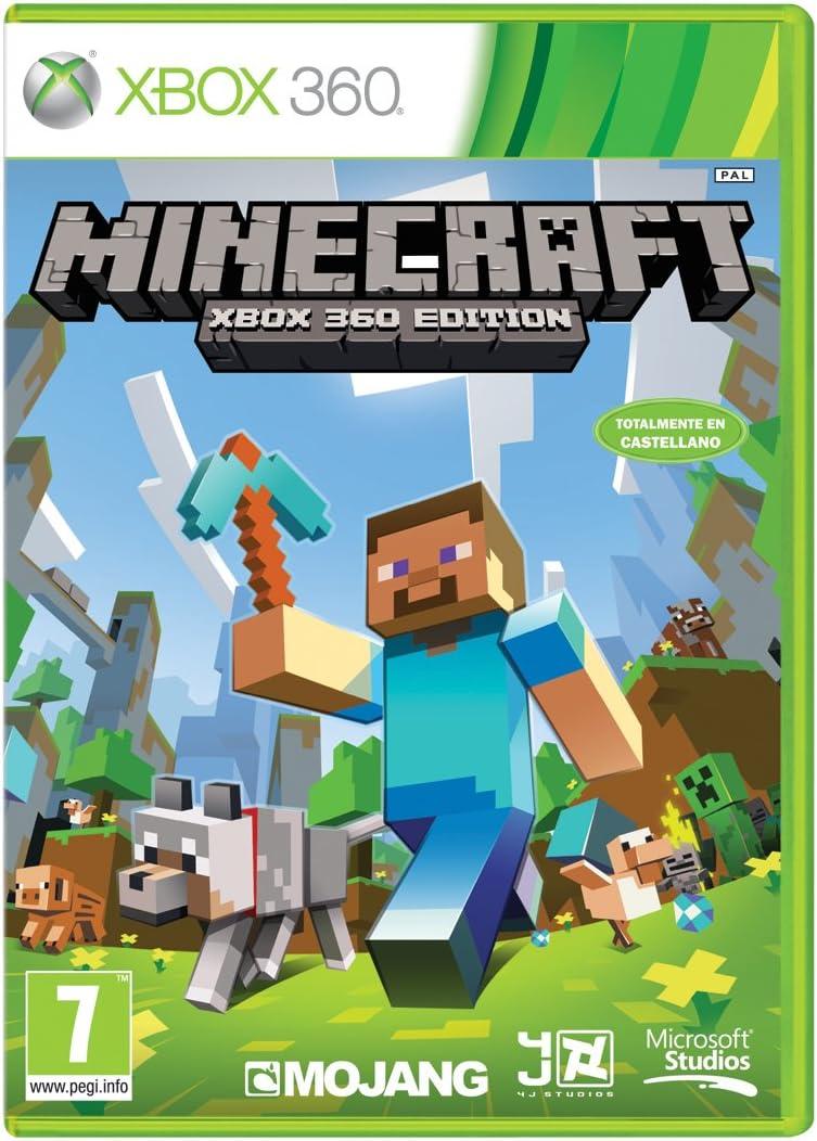 Minecraft - Edición Estándar, Xbox 360, Disco, Versión 124