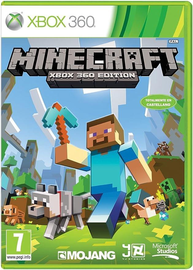 Minecraft - Edición Estándar, Xbox 360, Disco, Versión 124: Amazon.es: Videojuegos