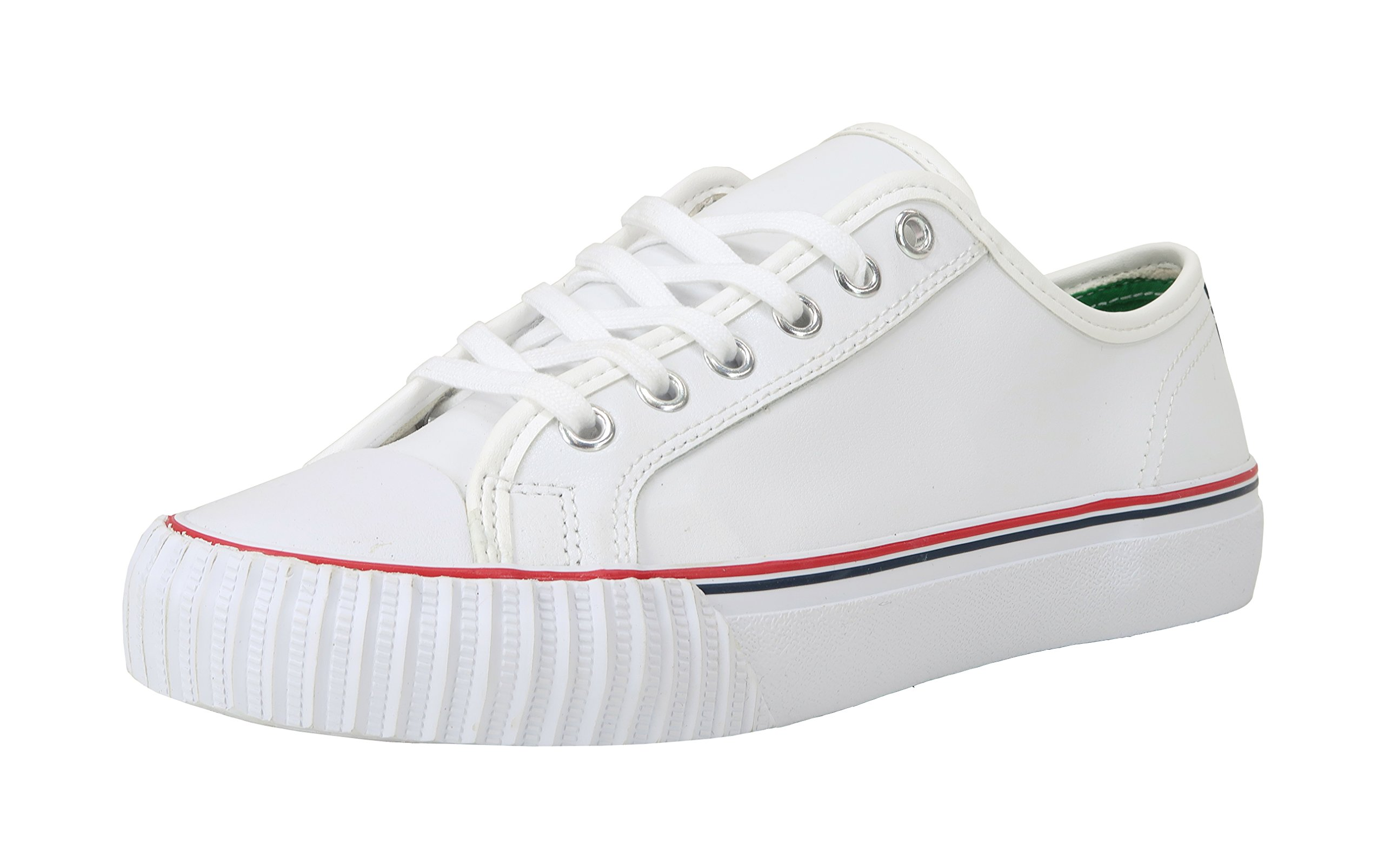 PF Flyers Men's ML2002WH, White, 10 D US