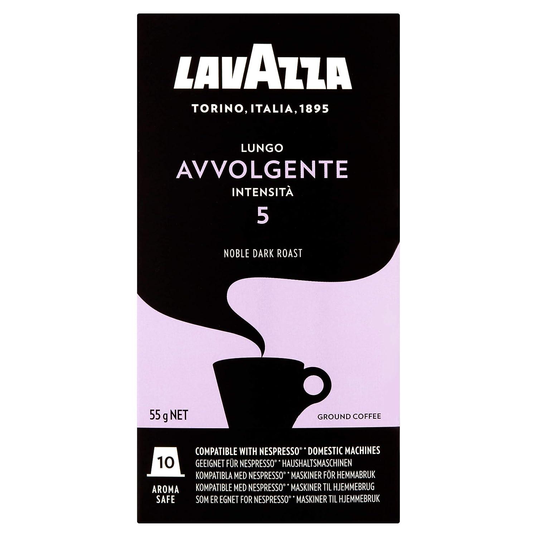 Lavazza Avvolgente Lungo, Cápsulas de Café, Compatible con las ...