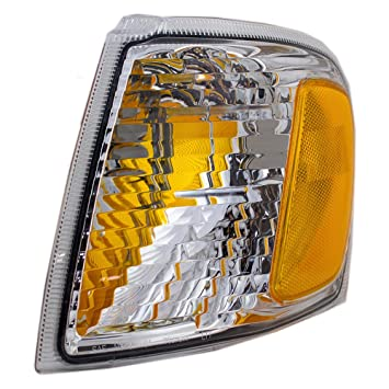 Drivers Park Signal Corner Marker Light Lamp Replacement for Ford Pickup Truck SUV 1L5Z 13201 AA AutoAndArt