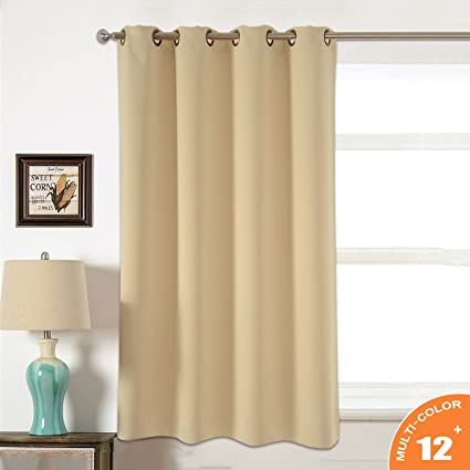 AMAZLINEN Sleep Well Blackout Curtains Toxic Free Energy Smart Thermal Insulated52 W X 63 L