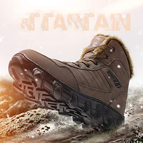 32f63e956 Unisex Shoes 2018 New Outdoor Men Women Snow Boots Sports High-Top ...