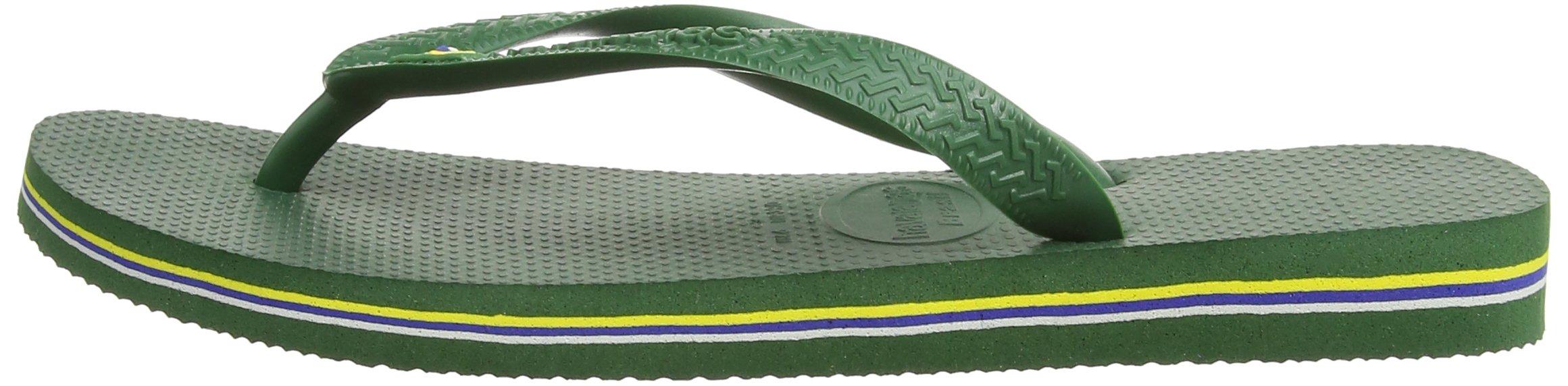 Havaianas Brasil, Unisex Adult's Flip Flops, Green (Brasil Amazonia), 3/4 UK (37/38EU) (35/36 BR) by Havaianas (Image #6)