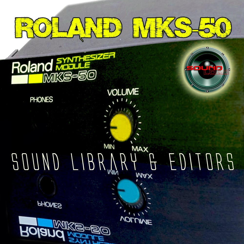 for ROLAND MKS-50 Original Factory & NEW Created Sound Library & Editors on CD or download