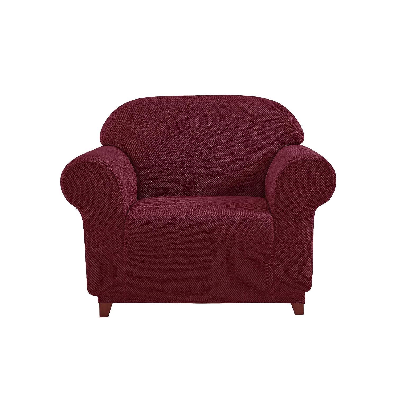 Loveseat, Beige DyFun 2-Piece Jacquard Spandex Stretch Living Room Sofa Slipcovers sofa-slipcovers2001