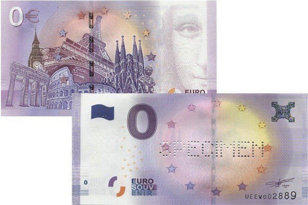 NumiSport€uro - Specimen - 0 Zero Euro Souvenir