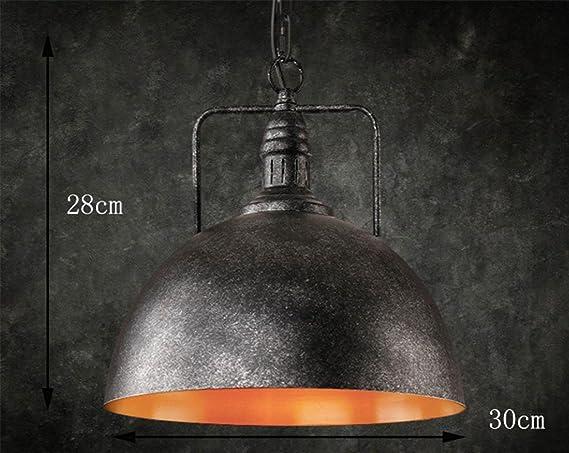 Mnii retro venti industriali lampadario bar coperchio paralume