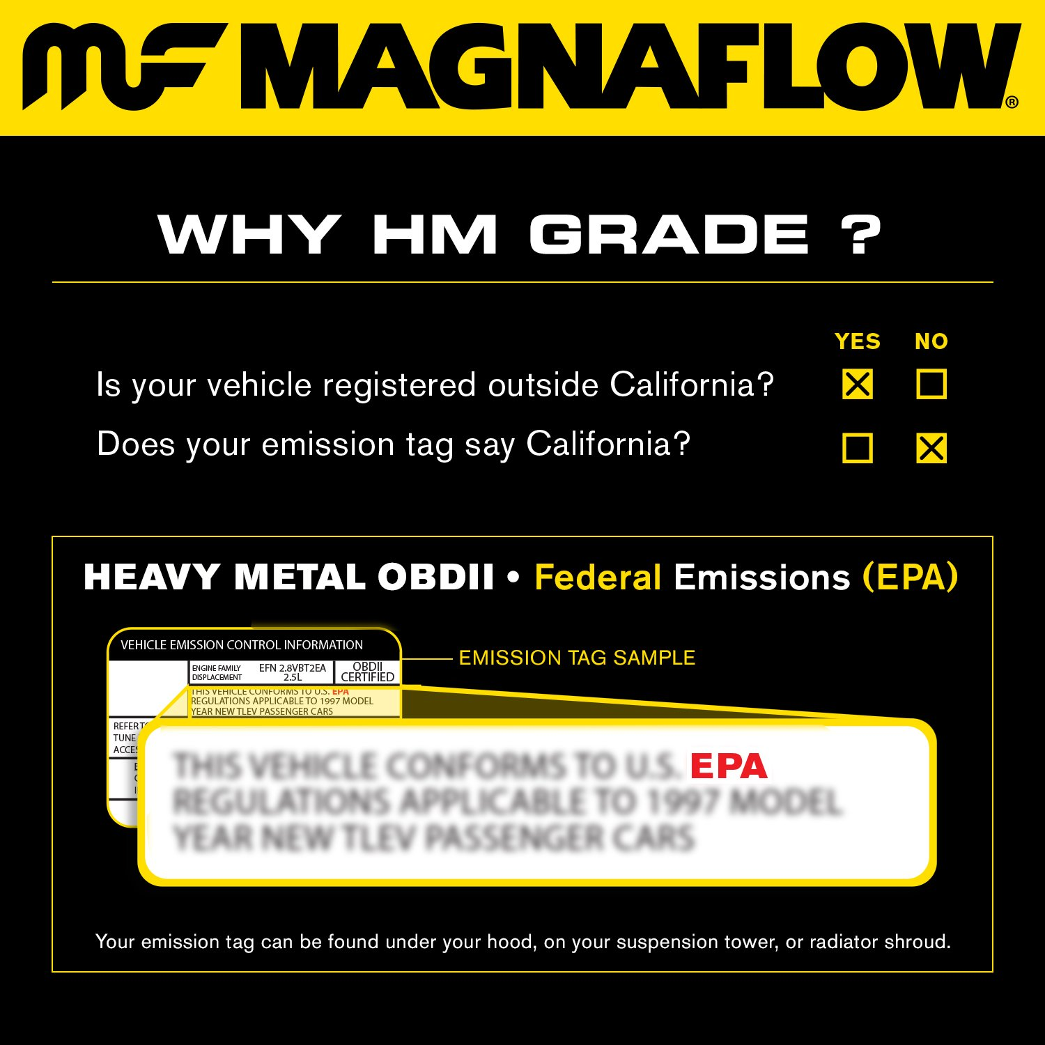 MagnaFlow 23311 Direct Fit Catalytic Converter (Non CARB compliant) MagnaFlow Exhaust Products