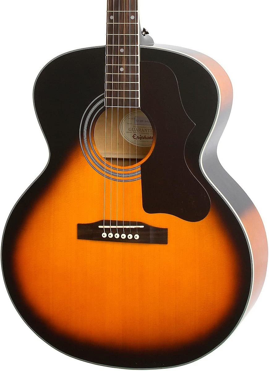 eaeavsnh3 Epiphone EJ-200 Artist guitarra acústica: Amazon.es ...