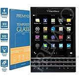 PREMYO verre trempé BlackBerry Passport. Film protection BlackBerry Passport avec un degré de dureté de 9H et des angles arrondis 2,5D. Protection écran BlackBerry Passport