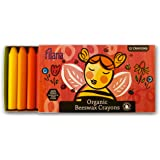 FILANA (12 Stick Crayons) Pure Certified Organic Beeswax - Handmade in The USA - Rich Colors - No Paraffin Waxes - Good for Earth. Good for Bees