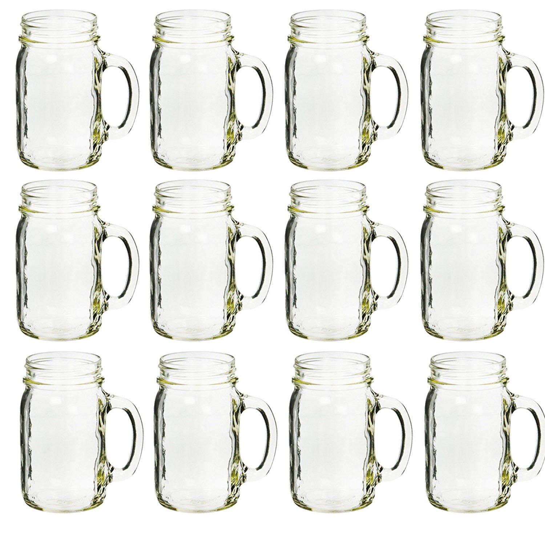 Ball 40014 plain drinking mugs, box of 12, 16 oz each