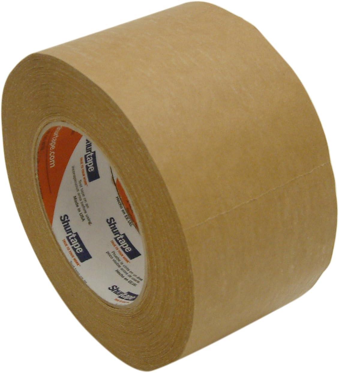 Shurtape FP-96 General Purpose Kraft Packaging Tape: 3 in. x 60 yds. (Kraft)