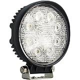 Lampe LED 24W projecteur spot idéal pour véhicule tout-terrain, chantier, phare bateau, auto 12V 24V LD77A