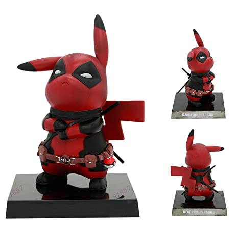 ec1fd9a7 Amazon.com: ガブリエル Toy Innoation Pikachu in Deadpool Cosplay ...