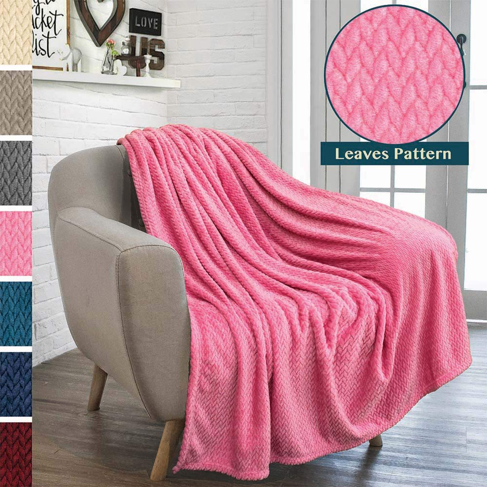 Cozy Lightweight Microfiber, Reversible Blanket