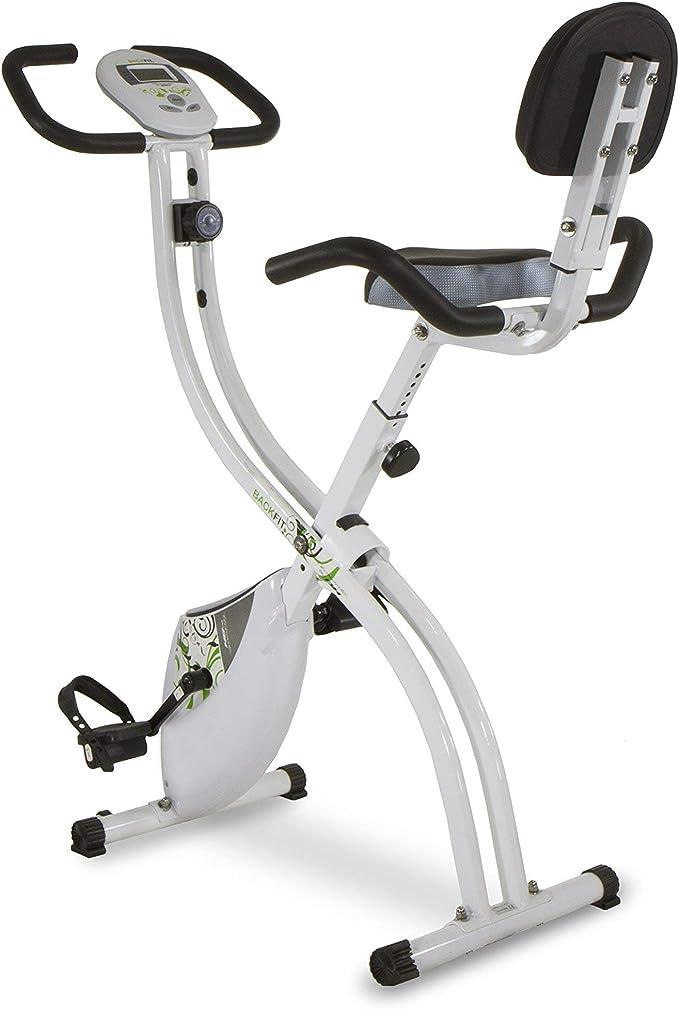 Tecnovita by BH Backfit - Bicicleta estática plegable con respaldo ...