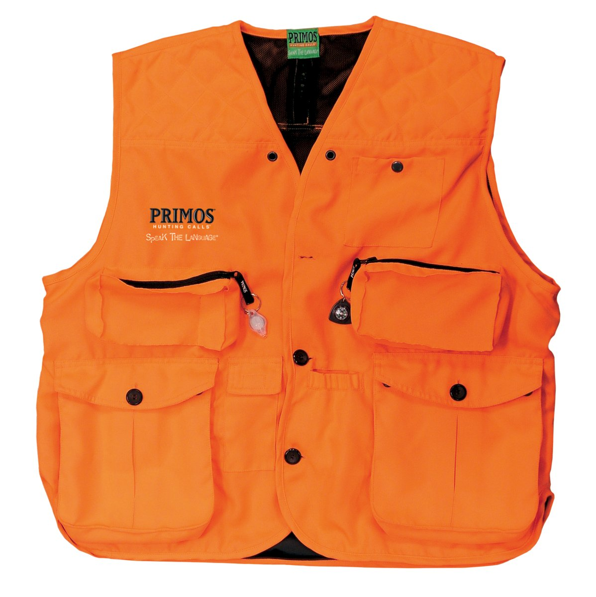 Primos Gunhunter's Vest (Blaze Orange, X-Large) by Primos Hunting