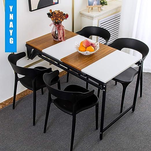 Mesa Plegable de Pared Escritorio plegable de mesa de madera de la ...